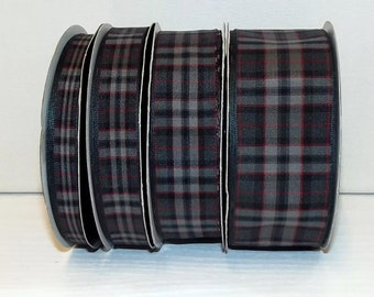 Pride of Scotland Silver Tartan lead, made in Scotland, Scottish clans, plaid,  tartan