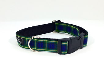 Gordon Tartan Collar,Scottish clans, plaids, dogs, pets, tartan ribbon