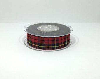Wallace tartan lead, Scottish clans Anderson Tartan Collar, plaid