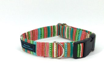 All that Glitters Dog Collar,Christmas,dog collar,luxury dog collar,festive,made in scotland,Penguin