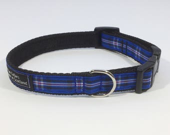 Rangers Tartan Collar,Scottish Football Club, plaid, tartan ribbon, ,Scottish clans, plaids, dogs, pets, tartan ribbon
