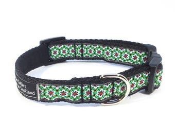 Flower Trellis Collar in Pink, Blue or Green