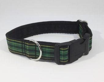 Celtic Football Club Tartan Collar,Scottish Football Club, plaid, tartan ribbon, ,Scottish clans, plaids, dogs, pets, tartan ribbon