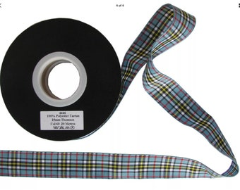 Thomson Tartan Lead, ,Scottish clans, plaids, dogs, pets, tartan ribbon