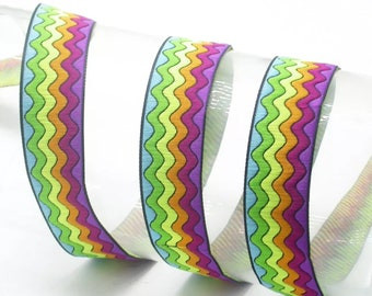 Rainbow Ripples Lead, made in Scotland,luxury dog leash, dogs, pets,