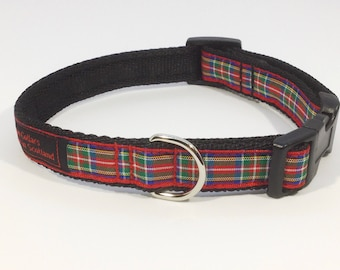 Royal Stewart Tartan Collar,dogs, pets, Royal Stewart ,Stewart, plaids, Scottish clans