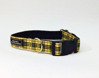 MacLeod Tartan Collar, ,Scottish clans, plaids, dogs, pets, tartan ribbon