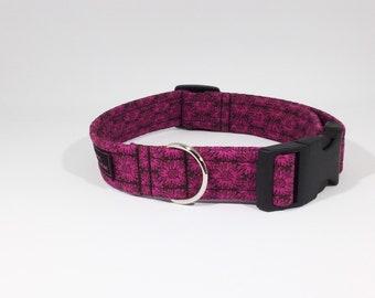 Ivy Dog Collar,Cotton,Floral,Dog collar,Dog Leash,Luxury Dog Collar,Luxury Dog Leash,pets,dogs