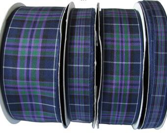 Pride of Scotland Highland Tartan lead, made in Scotland, Scottish clans, Royal Family, plaid,  tartan