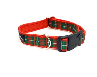 McGregor Tartan Collar,Scottish clans, plaids, dogs, pets, tartan ribbon