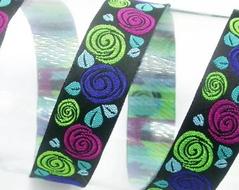 Flowers Lead (3), handcrafted , matching luxury dog collar to order, luxury dog leash, dogs , pets, jacquard ribbon,