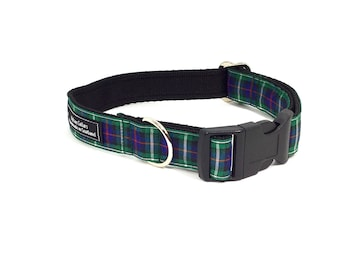 McKenzie Tartan Collar,Scottish clans, plaids, dogs, pets, tartan ribbon