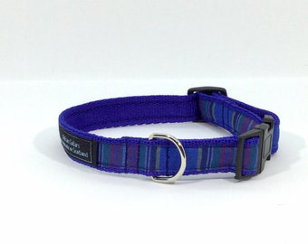 MacBeth Tartan Collar,Scottish clans, plaids, dogs, pets, tartan ribbon