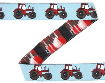Red Tractors Lead on Green, Grey or Blue