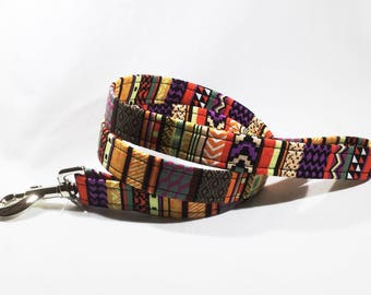 Purple Aztec Lead, Purple Aztec Collar, purple Aztec Lead,  Aztec Lead,Aztec dog collar,dog leash,luxury dog collar,luxury dog leash,dogs