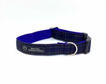 Royal Pride of Scotland collar, made in Scotland, Scottish clans, plaids, dogs, pets, tartan ribbon
