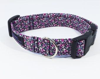 Liberty Pepper Dog Collar,dog collar,dog leash,luxury dog collar,luxury dog leash,Liberty, made in Scotland,handcrafted,dogs, pets