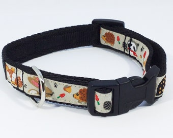 Woodland Collar in Beige, Green and Purple