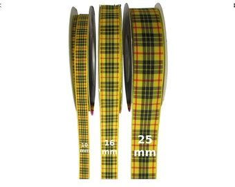 MacLeod Tartan Lead, ,Scottish clans, plaids, dogs, pets, tartan ribbon