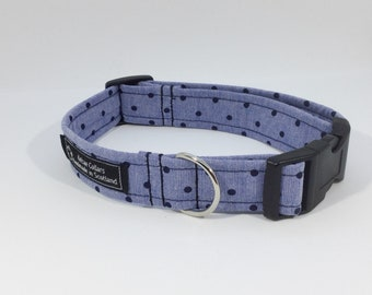 Chambray Dotty Collar