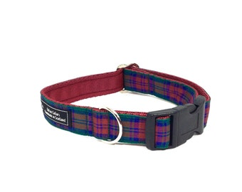 Lindsay Tartan Collar,Scottish clans, plaids, dogs, pets, tartan ribbon