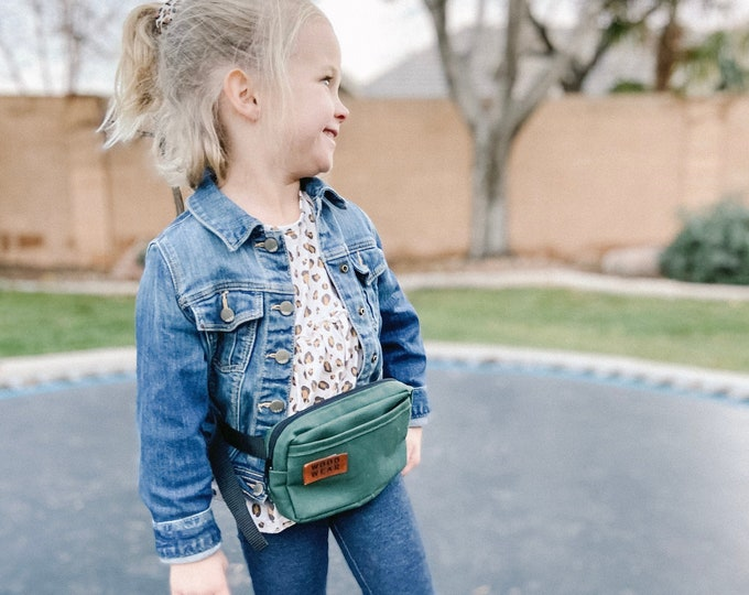 kids fanny pack | customizable