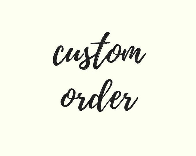 Custom items for Mayi