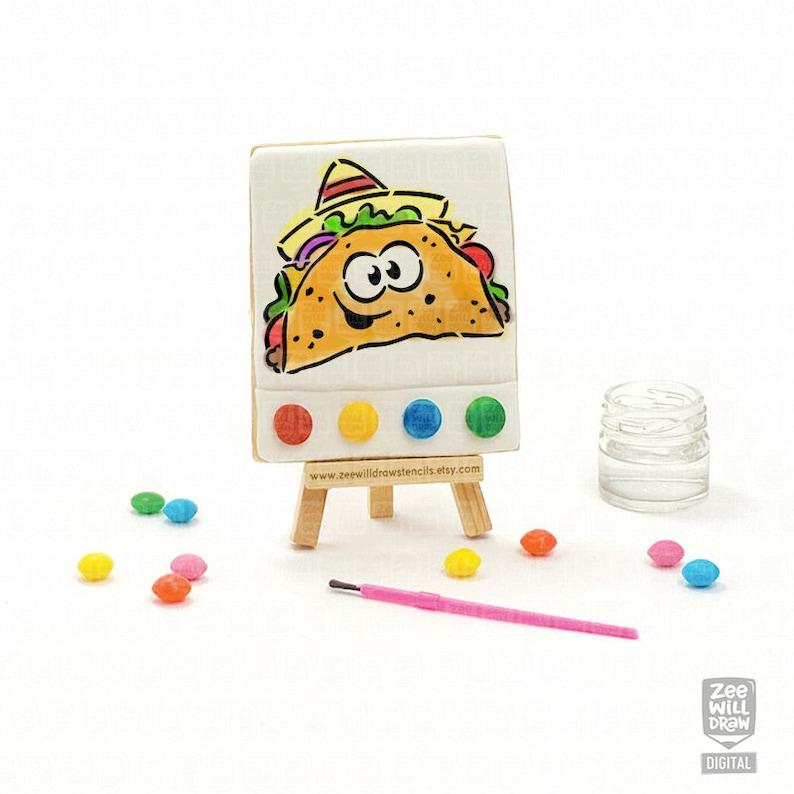 Taco PYO Stencil FILE