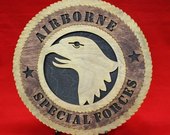US ARMY Airborne Special Forces Tribute 101st