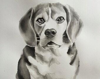 Pet Portrait CUSTOM PAINTING Original artwork made just for you of your pet