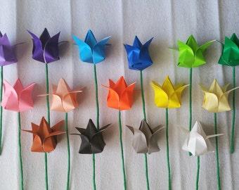 Origami Tulip