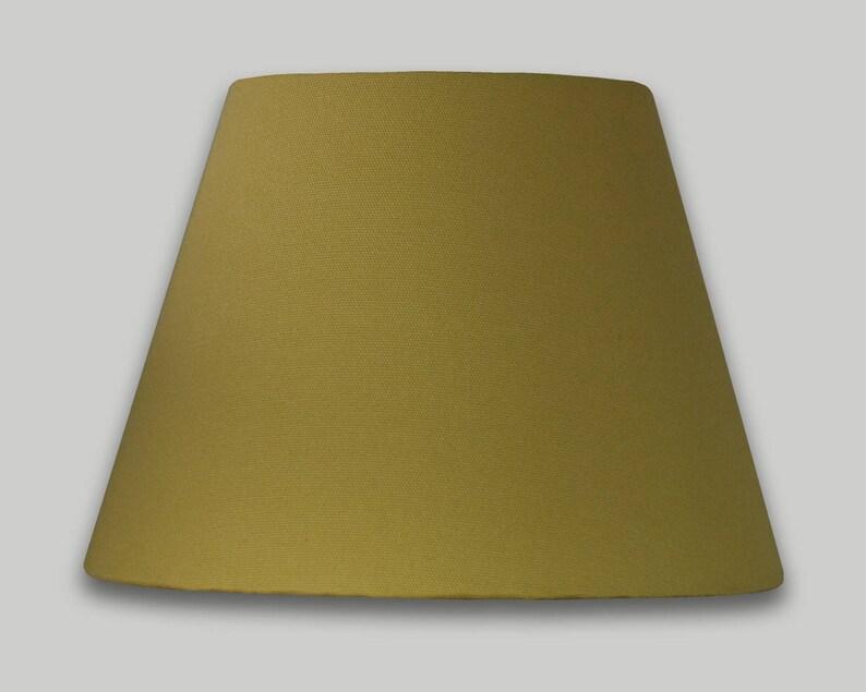 Plafond Jaune 50cm 70cm 40cm Conique Lightshade Moutarde Jour Abat 25cm 30cm Table 35cm 60cm Empire m8Nnv0w