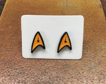 Star Trek - Badge - Stud Earring