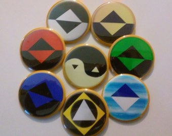 Reboot  (Set of 8 buttons, Pinback 2.25 inches)