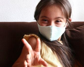 Kids Face Mask (Organic Cotton/Hemp)