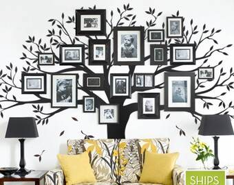 More Colors. Family Tree Wall Decal By Simple ...