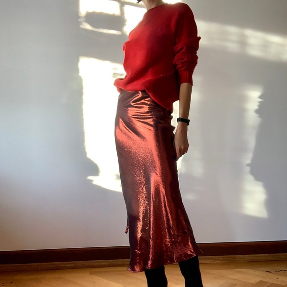 Metallic skirt by ELLERY