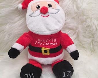 Santa Claus Plush Etsy