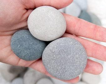 Medium beach stones (30), Bulk stones, Nature crafts, Rock craft supplies, Painted rocks, Wedding stones, Aquarium pebbles, Lake Huron