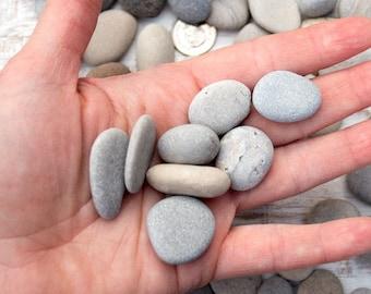 Small beach pebbles (150), Bulk stones, Nature crafts, Rock craft supplies, Painted rocks, Wedding stones, Aquarium pebbles, Lake Huron