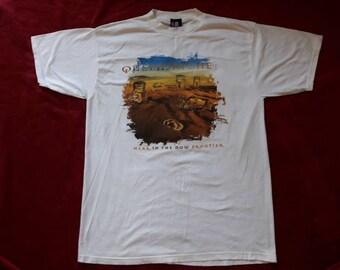 Vintage 1997 Queensryche Tour T Shirt  Vtg 90s 1990s Heavy Metal Rock Tee Deep Purple Sabbath Aerosmith Motley Crue Whitesnake Scorpions