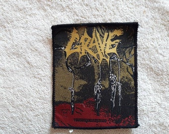 Vintage 1993 Grave Patch . Vtg 90s 1990s Death Doom Metal My Dying Bride Paradise Lost