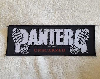 Vintage 1993 Pantera Patch . Vtg 90s 1990s Thrash Metal Woven Slayer Metallica Biohazard