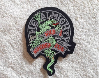 Vintage 1990s The Almighty Patch . 1990s 90s Heavy Metal Hard Rock Vtg  NOS Aerosmith Motley Crue