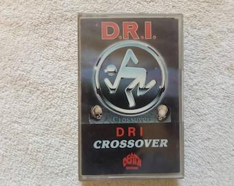1987 D.R.I. Crossover Cassette.