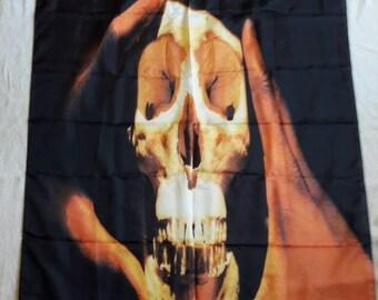 Vintage 1993 Public Enemy Poster Flag. Vtg 1990s 90s Hip Hop Rap Chuck D Anthrax