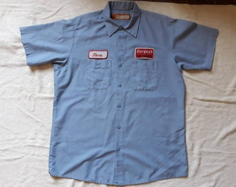 Vintage 1999 H2O Work Shirt Vtg 90s 1990s Punk Hardcore Crossover Madball Judge Gorilla Biscuits Cro Mags SOIA