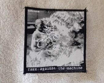 Vintage 1993 Rage Against The Machine Patch Vtg 90s 1990s Heavy Rap Nu Metal Public Enemy Audioslave Anthrax Korn Slipknot Deftones
