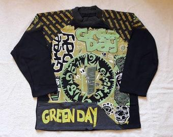 Vintage 1992 Green Day Sweater Vtg 90s 1990s Punk Rock Crewneck Offspring NOFX  Ramones Blink 182 Pennywise Lemonheads Rancid Exploited