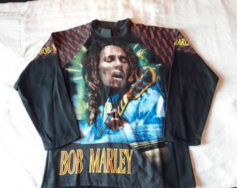 Vintage 1994 Bob Marley Sweater Crewneck Vtg 90s 1990s Ska Reggae Roots Ziggy Damian Peter Tosh Michael Jackson Zion Lion John Lennon Elvis